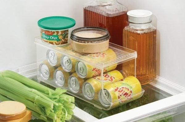refrigerator beverage container