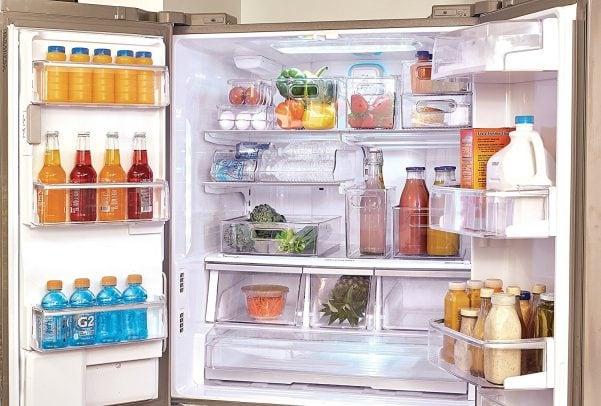 refrigerator organization hacks