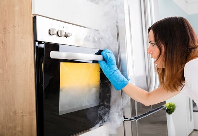 self clean an oven