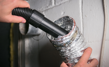 dryer vent cleaning instructions