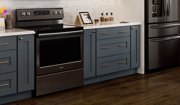 Whirlpool electric oven bakes unevenly