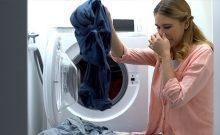 washer smells like mildew